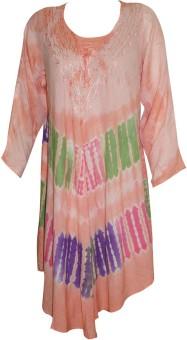 Indiatrendzs Women's Maxi Beige Dress