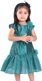 Lil'Posh Girl's Layered Dress