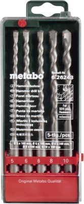 Metabo-6.26243-SDS-Plus-Drill-Bit-Set-(5-Pc)