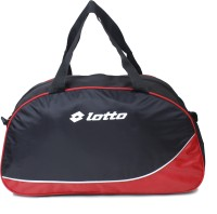 Lotto V-One 12 Inch Gym Bag BLACK RED-056