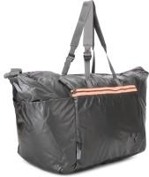 Puma Fit At Lux Workout Bag 17.7 Inch Travel Duffel Bag (Black, Fluro Peach)