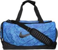 Nike Team Training Max Air 10 Inch Travel Duffel Bag GAME ROYAL/BLACK/(BLACK)