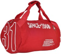 Hawai Unisex Travel/ Sports 14 Inch Travel Duffel Bag Red-01