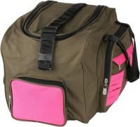 Unitedbags Grnpnk Stripes Airbags 18 Inch Travel Duffel Bag Green, Pink