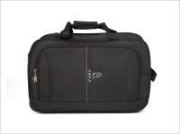 Kara 20 Inch Expandable Trolley Laptop Strolley Bag Black