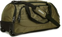 American Tourister X Bag Travel 2 WHD 21.6 inch Duffel Strolley Bag Khaki