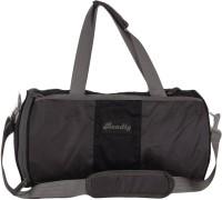 Bendly Round Gym 17 Inch Travel Duffel Bag Blue