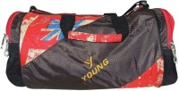 Bagathon India Young Star Travel Duffel And Sports Gym Bag With Side Pockets [RED] 17 Inch/43 Cm Red