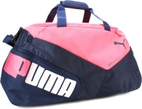 Puma 27.6 Inch Gym Bag Peacoat, Bright Plasma, White