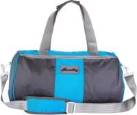 Bendly Round Gym 17 Inch Travel Duffel Bag Lt. Blue