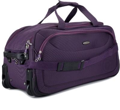 Princeware Princeware Russel 25.6 Inch Duffel Strolley Bag (Violet)