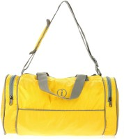 I Plain Spacious 13 Inch Gym Bag Yellow