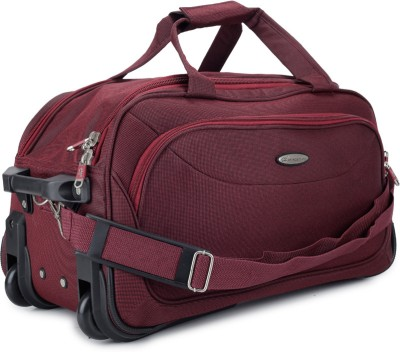 Princeware Princeware Russel 25.6 Inch Duffel Strolley Bag (Maroon)