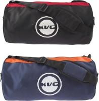 KVG COMBO GYM BAG 16 Inch/40 Cm Black, Red, Orange, Blue