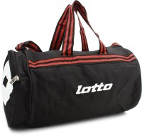 Lotto Combat Gym Bag Black/Red