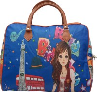 Ruff Printed Duffle Bag (small) 17 Inch/44 Cm (Expandable) Multicolor