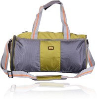 Yark Gym Bag With Shoe Pouch Pocket 17 Inch/44 Cm Green