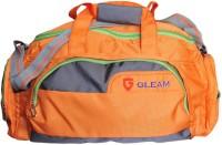 Gleam Travelling / Gym / Sports 19 Inch Travel Duffel Bag Orange