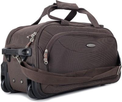 Princeware Princeware Russel 21.7 Inch Duffel Strolley Bag (Brown)