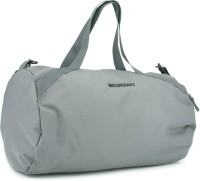 Wildcraft The Drum Grey 18.1 Inch Gym Bag Grey