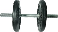 ROYAL 1pc Silver Handle + 2.5kg_2pc_Regular_Olumpic Plates_22mm Adjustable Dumbbell
