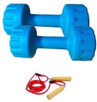 Monika Sports Matrix And Skip Fixed Weight Dumbbell (Pack Of 2, 2 Kg Each)