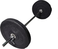 ROYAL 5kg_2pc_Low_Cost_plates_3ft_Straight_rod_with_lock_silver Adjustable Dumbbell