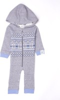 Pumpkin Patch Baby Boy's Grey Romper