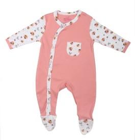 Morisons Baby Dreams Girl's, Boy's Pink Romper
