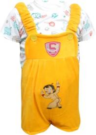 Cute Raskals Baby Boy's Yellow Romper