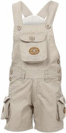 benext Boy's Multicolor Dungaree