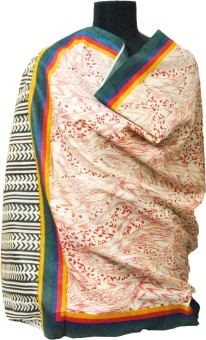Fpc Creation Khadi, Cotton Printed Women's Dupatta - DUPE45RGKAWHU83R