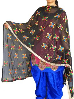 RED BIRD FASHION Art Silk Printed Women's Dupatta
