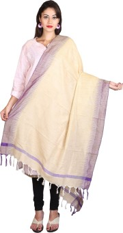 Kanheyas Khadi, Silk Cotton Blend Woven Women's Dupatta