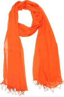 Aarushi Fashion Faux Chiffon Solid Women's Dupatta - DUPE9HC4VYNFGB8W