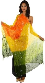 Fashiana Art Silk Self Design Women's Dupatta - DUPE6KDTBMW8ZBC4