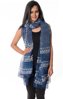 Geeta Silk Cotton Blend Printed Women's Dupatta - DUPE3F3N9ZTVABGN