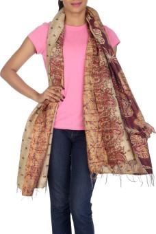 Rajrang Art Silk Floral Print Women's Dupatta