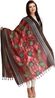 Aksara Art Silk Floral Print Women's Dupatta - DUPEGX4E6J2JRBVG
