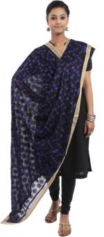 Crafts Republic Pure Chiffon Embroidered Women's Dupatta - DUPE96XYUNFYABYS