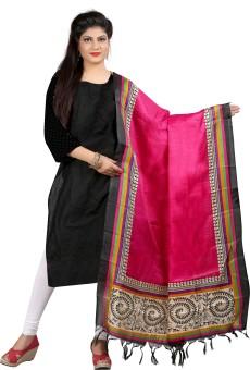 Archishmathi Art Silk Floral Print Women's Dupatta - DUPEJSGAYVDN8FHC
