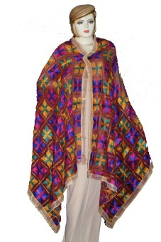 Muteyaar Faux Chiffon Embroidered Women's Dupatta