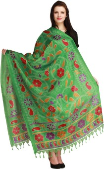 Aksara Art Silk Floral Print Women's Dupatta - DUPEGX4948EVHHAG