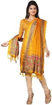 Paroma Art Art Silk Floral Print Women's Dupatta