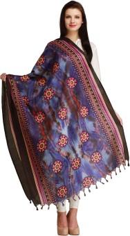 Aksara Art Silk Floral Print Women's Dupatta - DUPEGX4FJHFYRKYM
