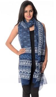 Geeta Silk Cotton Blend Printed Women's Dupatta - DUPE3F3NAKVQ6MRZ