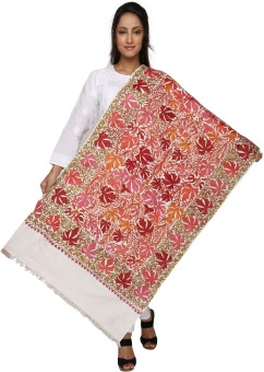Dupatta Bazaar Pure Silk Embroidered Women's Dupatta