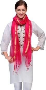 Enchanted Drapes Chanderi Solid Women's Dupatta