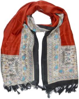 Shopatplaces Art Silk Self Design Women's Dupatta - DUPEE5RJGZ8V4SW3