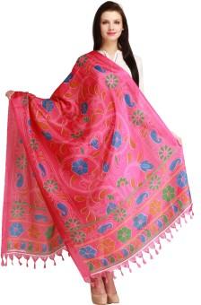 Aksara Art Silk Floral Print Women's Dupatta - DUPEGX48NBZUSPRT